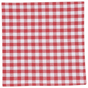 Now Designs Set of 4 Gingham Napkins - Click to enlarge