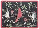 Now Designs Set of 4 Winter Birds Placemats