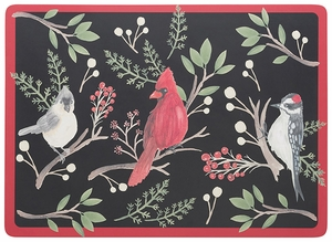 Now Designs Set of 4 Winter Birds Placemats - Click to enlarge