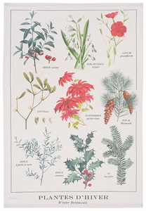 Now Designs Winter Botanicals Towel - Click to enlarge
