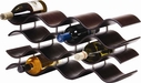 Oenophilia Bali 12 Bottle Wine Rack Ebony
