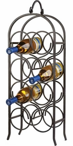 Oenophilia Wine Arch 8 Bottle Wine Rack - Click to enlarge