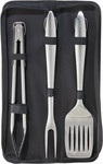 Oggi 4 Piece Stainless Steel Barbecue Tool Set