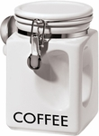 Oggi White EZ Grip Coffee Canister