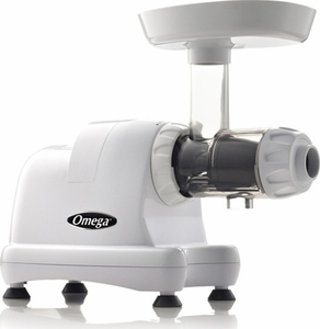 Omega 8007 HD Masticating Juicer White - Click to enlarge