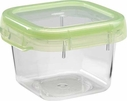 Oxo Green Lock Top Container 13.5 oz Square