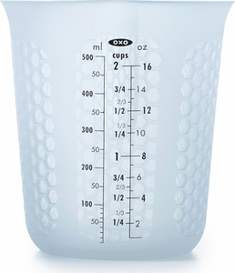 Oxo 2 Cup Squeeze & Pour Silicone Measuring Cup - Click to enlarge