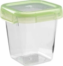 Oxo Green Lock Top Container 20.3 oz Square