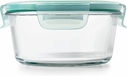 OXO 4 Cup Snap Glass Round Container