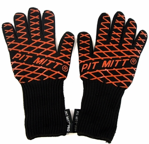 Pair of Pit Mitt® Pro BBQ Gloves - Click to enlarge