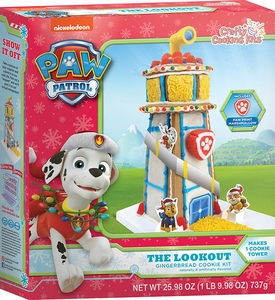 Paw Patrol Holiday Gingerbread Cookie Kit - Click to enlarge
