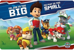 Paw Patrol Placemat - Click to enlarge