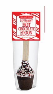 Peppermint Hot Chocolate Spoon - Click to enlarge