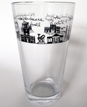 Philadelphia 16 oz Pub Glass