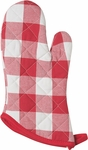 Picnic Check Red Superior Oven Mitt
