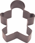 Polyresin Coated Cookie Cutter- Brown Boy