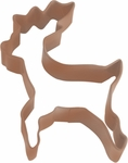 Polyresin Coated Cookie Cutter- Brown Reindeer