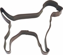 Polyresin Coated Cookie Cutter- Chocolate Lab