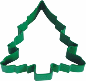 Polyresin Coated Cookie Cutter- Green Tree - Click to enlarge