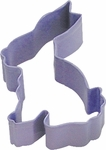 Polyresin Coated Cookie Cutter- Lavender Bunny