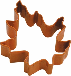 Polyresin Coated Cookie Cutter- Oak Leaf - Click to enlarge