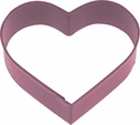 Polyresin Coated Cookie Cutter- Red Heart