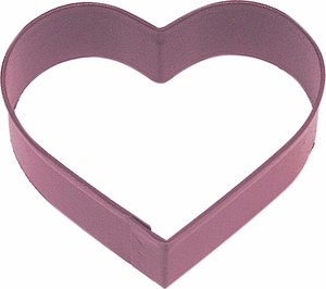 Polyresin Coated Cookie Cutter- Red Heart - Click to enlarge