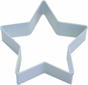 Polyresin Coated Cookie Cutter- Star - Click to enlarge