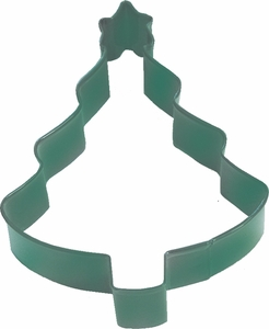 Polyresin Coated Cookie Cutter- Tree with Star - Click to enlarge