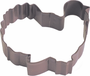 Polyresin Coated Cookie Cutter- Turkey - Click to enlarge