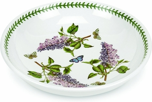 "Portmeirion Botanic Garden 13"" Low Pasta Bowl - Click to enlarge"