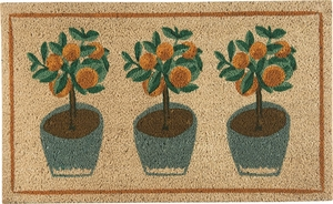 Potted Plants Doormat - Click to enlarge
