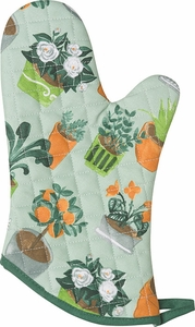 Potted Plants Oven Mitt - Click to enlarge