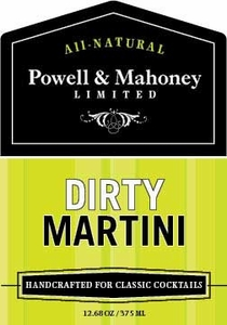 Powell & Mahoney Dirty Martini Mixer - Click to enlarge