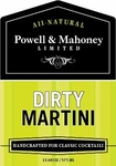 Powell & Mahoney Dirty Martini Mixer