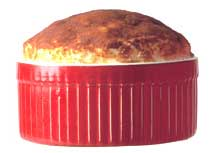 Recipe: Roquefort Souffle - Click to enlarge