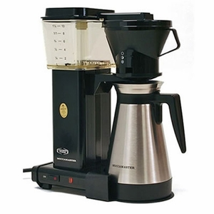 refurbished technivorm mocca master kbt 741 black thermo coffeemaker 2 Highest Rated Drip Coffee Makers