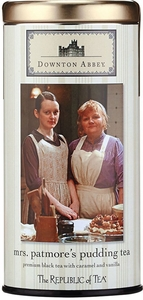 Republic of Tea Mrs. Patmore's Downton Abbey Pudding Tea - Click to enlarge