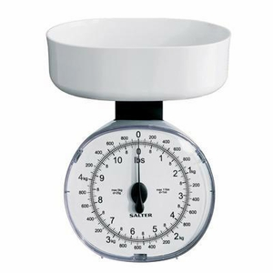 Salter 11 lb Diet Scale White - Click to enlarge