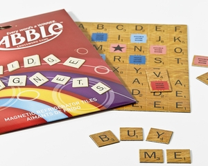 Scrabble Fridge Magnets - Click to enlarge