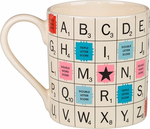 Scrabble Mug - Click to enlarge