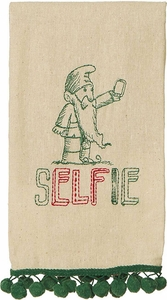 Selfie Tea Towel - Click to enlarge