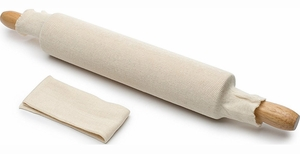 Set of 2 Cotton Rolling Pin Covers - Click to enlarge