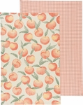 Set of 2 Peaches Kitchen Towels