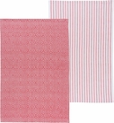 Set of 2 Prism Towels Poppy