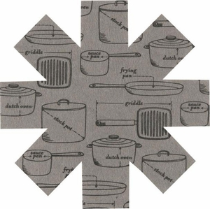 Set of 3 Cookware Pan Protectors - Click to enlarge