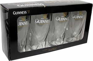 Set of 4 20 oz Guinness Gravity Glasses - Click to enlarge