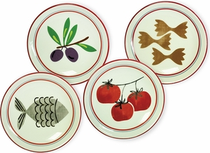 Set of 4 Antipasto Dipping Dishes - Click to enlarge