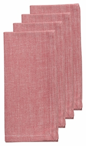 Set of 4 Chambray Napkins - Click to enlarge