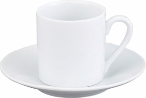 Set of 4 Demi Cups and Saucers - Click to enlarge